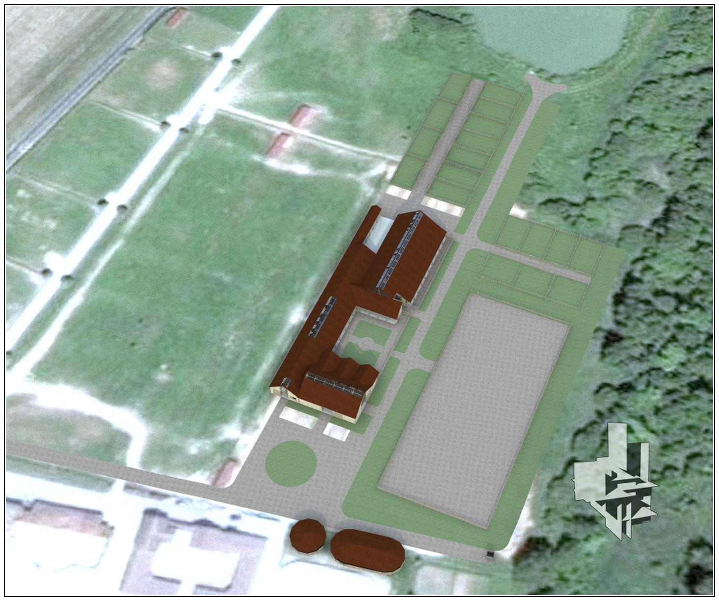 CENTRE D'ENTRAINEMENT HIPPIQUE – La Boissière Ecol-Gecele Architecture