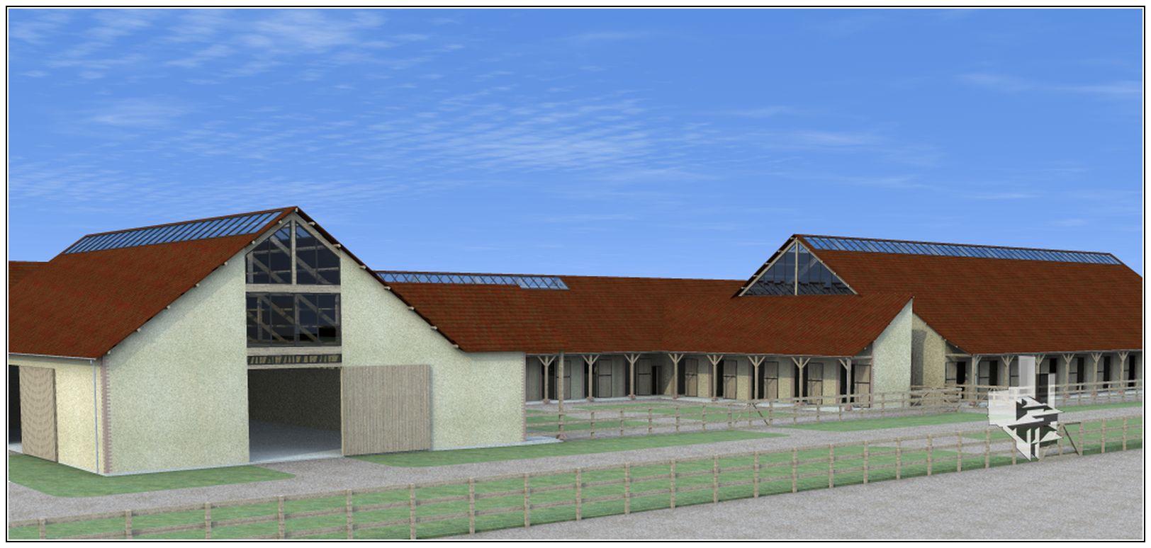 CENTRE D'ENTRAINEMENT HIPPIQUE – La Boissière Ecol-Gecele Architecture_3