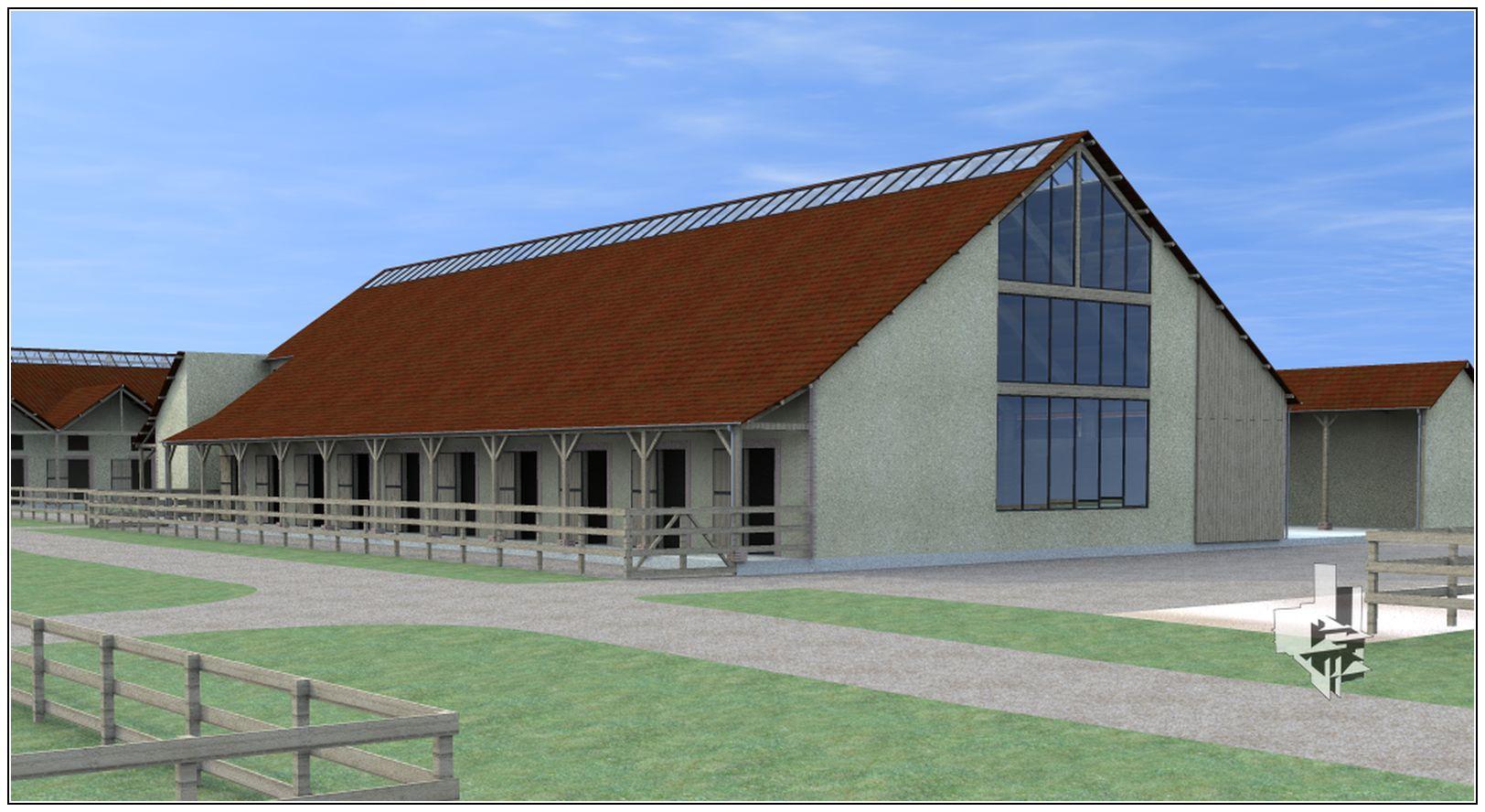 CENTRE D'ENTRAINEMENT HIPPIQUE – La Boissière Ecol-Gecele Architecture_5