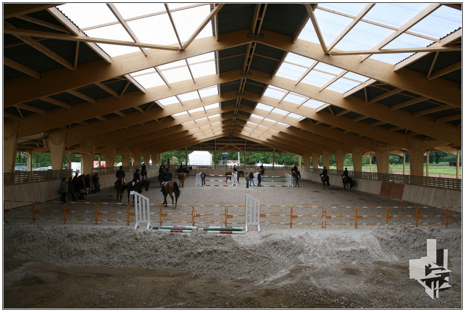 CENTRE D'ENTRAINEMENT HIPPIQUE – La Boissière Ecol-Gecele Architecture_7