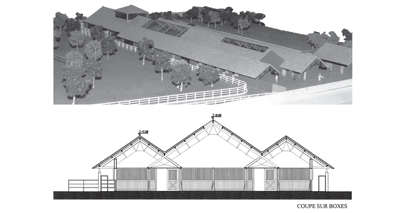 clinique vétérinaire à Gouvieux (60) - GECELE ARCHITECTURE